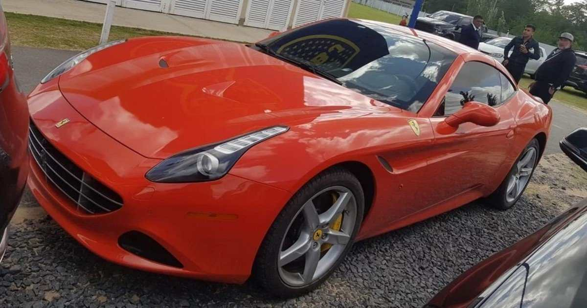 Tévez Ferrari