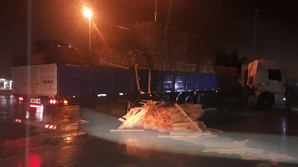 maniobra camión