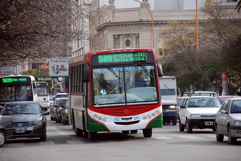 Bahía Blanca paro colectivo